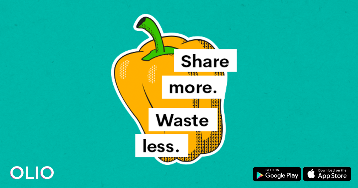 OLIO - Share more  Waste less